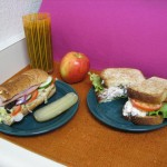 turkey-sandwich-with-fruit